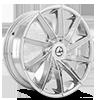 5 LUG AZA-506 CHROME
