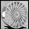 5 LUG AZA-501 CHROME