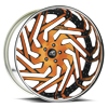5 LUG ADESSO ORANGE AND BLACK