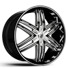 Advocate Chrome Plated 5 lug
