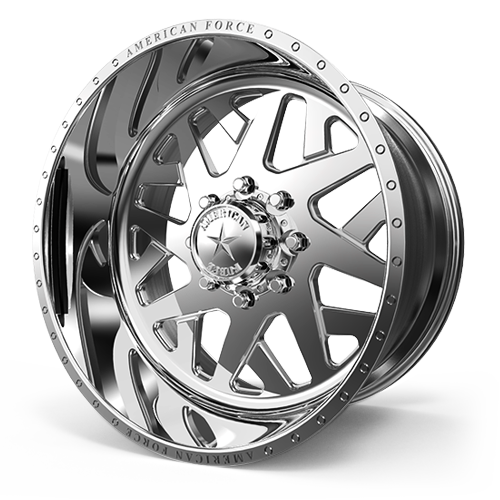 F28 Chopper SS Polished 8 lug