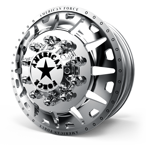 G13 Bully DRW Polished 10 lug