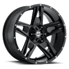 Lonestar Satin Black 5 lug