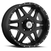 Marshal (S118) Matte Black with Ball Machine 5 lug