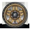 6 LUG ANZA - D583 MATTE BRONZE W/ BLACK RING