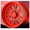 AB107 Tremor Red 8 lug