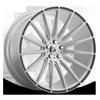 ABL-14 Polaris Brushed Silver w/ Carbon Fiber Inserts 5 lug