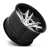 5 LUG BASTILLE BRUSHED GLOSS CLEAR W/ GLOSS BLACK LIP