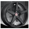 BC5 Matte Black 5 lug