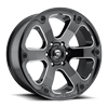 6 LUG BEAST - D562 BLACK & MILLED