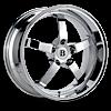 BR1 Chrome 5 lug