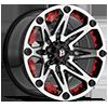 814 Jester Gloss Black Machined 5 lug