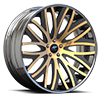 Banded Concave Bronze and Black 5 lug