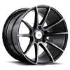 BM12 Gloss Black Double Dark Tint 5 lug