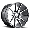 5 LUG BM12 MACHINED BLACK