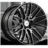 5 LUG BM13 GLOSS BLACK W/ DOUBLE DARK TINT FINISH