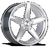 BR01 Hyper Silver 5 lug