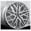 BR10 Silver 5 lug