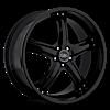 c856 Black 5 lug