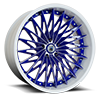 CX828 Blue and White 5 lug