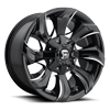 Stryker - D571 Gloss Black & Milled 6 lug