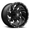 Cleaver - D574 Gloss Black & Milled 6 lug