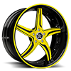 Cotello Yellow 5 lug