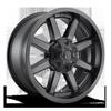 Maverick - D436 Matte Black 5 lug
