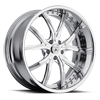 DA190 Chrome 5 lug