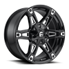 Dakar - D622 Gloss Black & Milled 5 lug