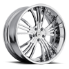 DA187 Chrome 5 lug