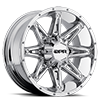 5 LUG GLOC CHROME