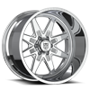 6 LUG F61 FULL POLISH