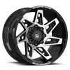 DS653 Gloss Black with Mirror Machined Face 8 lug