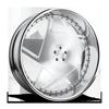Boosta - XB6 Brushed Face | White Windows | Polished Lip 5 lug