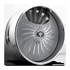S509-Fantasy Textured grey & milled 5 lug