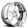 XB20 - Hypa Chrome 5 lug