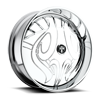 S604-Nocturnus Chrome 8 lug