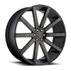 Shot Calla - S121 Black & Machined with Dark Tint 6 lug