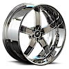 5 LUG DELANO CHROME