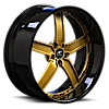 5 LUG DELANO GOLD WITH BLACK LIP