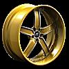 5 LUG DELANO GOLD