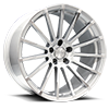 Devotion Metallic Silver with Machined Face 5 lug
