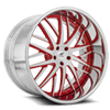 Directo Brushed and Red 5 lug