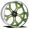 Domani Green and Black 5 lug