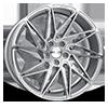 Driven Silver Machined 5 lug
