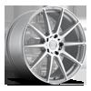 Essen - M146 Silver & Machined 20x9 5 lug