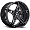 5 LUG F2.10 CARBON/BLACK CENTER, BLACK LIP