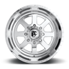8 LUG FF09D - 8 LUG SUPER SINGLE FRONT POLISHED