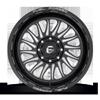 8 LUG FF103 GLOSS BLACK & MILLED